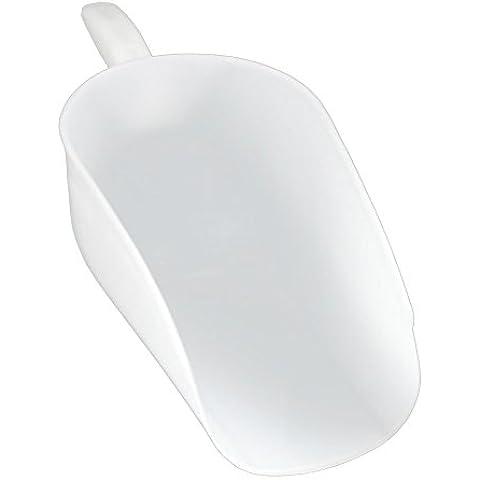 Bianco in plastica feed foraggi Pala cucchiaio Pig