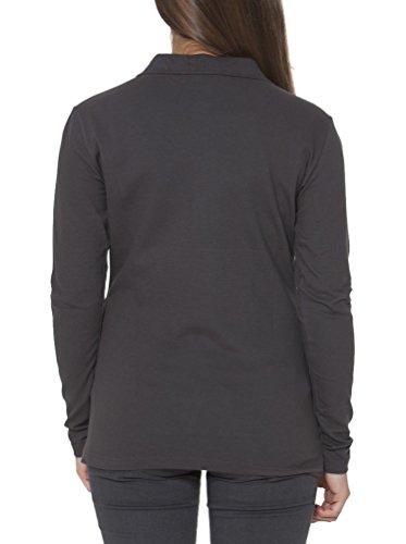 FRED PERRY 31162056 Polohemd mit langen Ärmeln Damen braun 0243