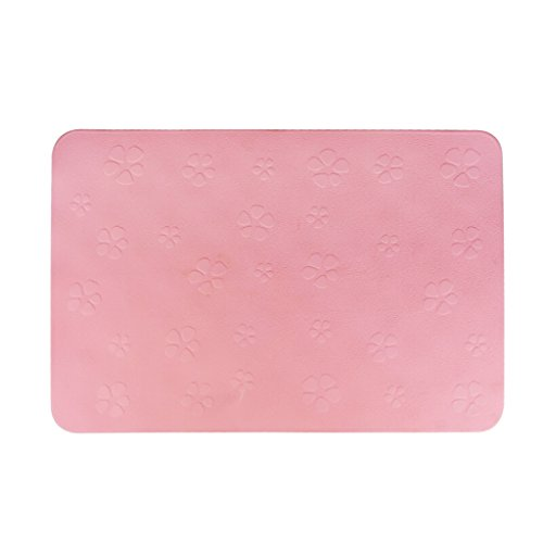 Household bathroom mat Badematte, Gummimatte, Babymatte, Badematte, Fußmatte, Dicke Matte, Rutschfeste Badezimmertür, Badematte, Pink,...