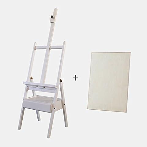Chevalets Bois de hêtre avec tiroir à tiroir type châssis à peinture à l'huile / plateau à cheval chevalet peinture