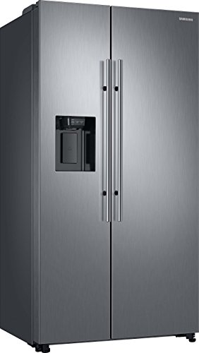 Samsung RS8000 RS6JN8211S9/EG Side-by-Side Kühlschrank/A++/383 kWh/Jahr/178 cm Höhe/407 L Kühlteil/202 L Gefrierteil/Silber/Space Max/Twin Cooling Plus