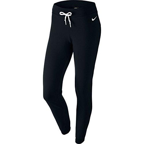 Nike W Nsw Cf Jrsy Pantalone da Allenamento - Multicolore (Nero/Bianco/Bianco) - M