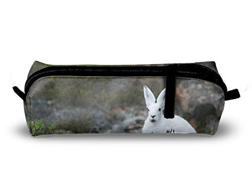 Chat mignon Fleur crayon pour stylo étudiant Bureau College Middle School High School de stockage de grande capacité one size White Rabbit 6