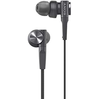 Sony MDR-XB55 Extra-Bass in-Ear Headphones Without Mic(Black)