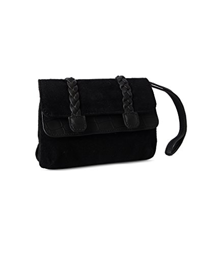 baggit Mp Deshi Tower Women's Mobile Pouch (Black)  available at amazon for Rs.375