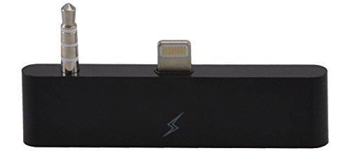 30 zu 8 Pin Audioadapter für das iPhone 6 / 6s zum Verbinden vom alten mit dem neuen iPhone-Anschluss  30 zu 8 mit Audio/ Ideal für Audioübertragung / iOS 11 in schwarz von VAPIAO