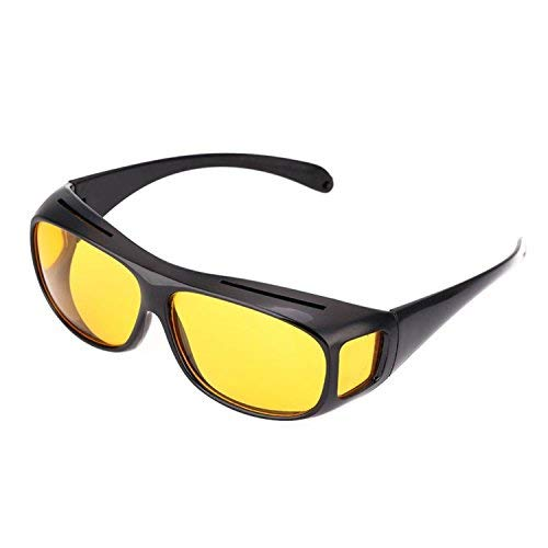 buyalarm Aktion - Unisex Kontrast-Nacht-Brille für Autofahrer Angler