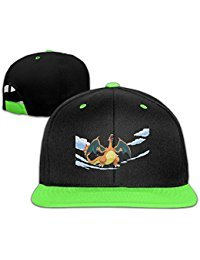 Big And Little Boys' Fitted Hats Catch Pokemon Go Adjustable Wholesale Snapback