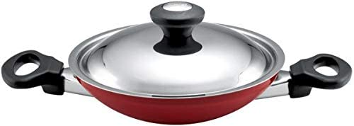 Prestige Appachatti with Stainless Steel Lid, PR15852 Red