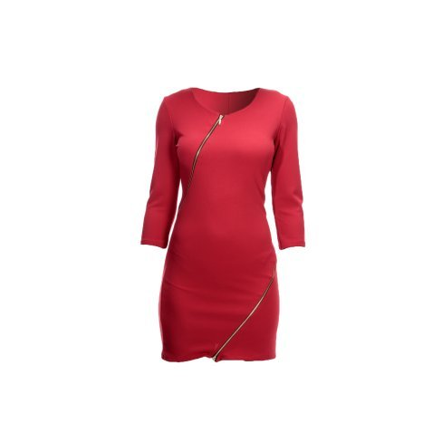 ROBE ROUGE UNIE Rouge