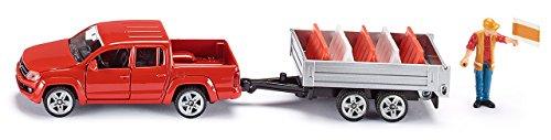 Siku 3543 - Pick-Up mit Kippanhänger - Spielzeug Pick-up