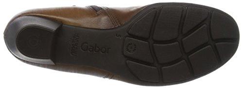 Gabor Basic, Bottes Classiques Femme Marron (Sattel Effekt)