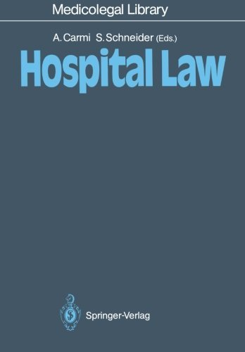 Hospital Law (Medicolegal Library)