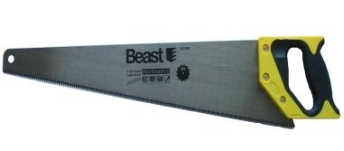 Beast Scie égoïne de 500 mm Denture en métal trempé