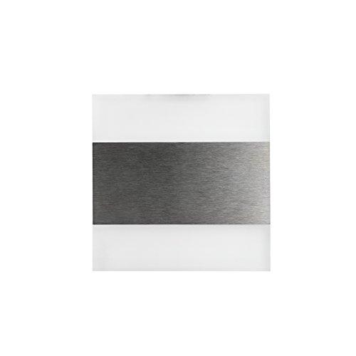 KOBERT GOODS - LED-Treppenbeleuchtung 1,3W mit 230V TERRA KALTWEIß in verschiedenen Formen Hochwertige Einbau-Spots für die Wand, Beleuchtung von Treppen und Stufen Strahler aus Glas / Aluminium
