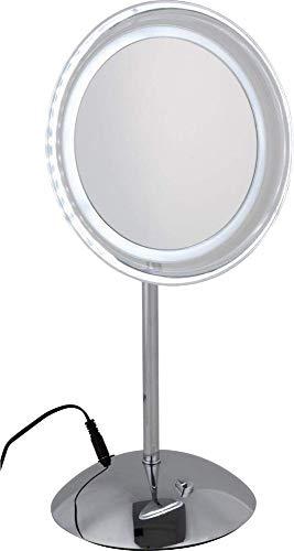 Standspiegel -Kosmetikspiegel -Modell:Luna mit -LED-Tageslicht
