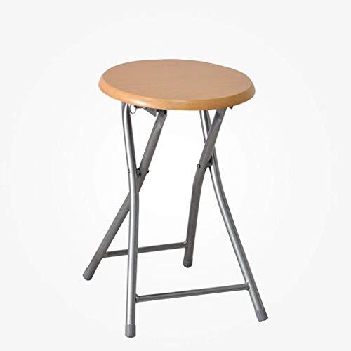 GAOLI Klapphocker/Home hölzerne Oberfläche Metall im Freien beweglicher einfacher Tisch Hocker Erwachsene Stuhl Hocker/Freizeit Stuhl/Hocker -A