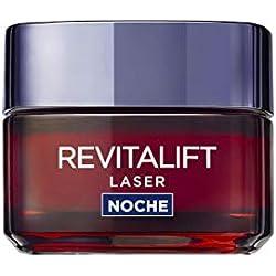 L'Oreal Paris Dermo Expertise Crema de Noche Anti-Edad Revitalift Laser, con Proxylane - 50 ml