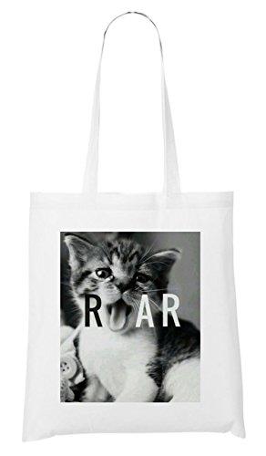 Roar Pussycat Bag White