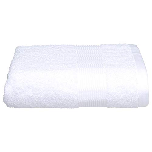 Atmosphera - Serviette de Toilette Blanche 50X90