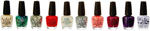 OPI Smalto per Unghie Mini Kit, The Perfect Ten, Coca Cola, 10 x 3.75 ml