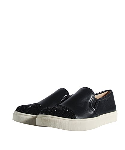 Steve Madden Emuse-R Black Multi Slip On - Scarpe Nere Brillantini Black
