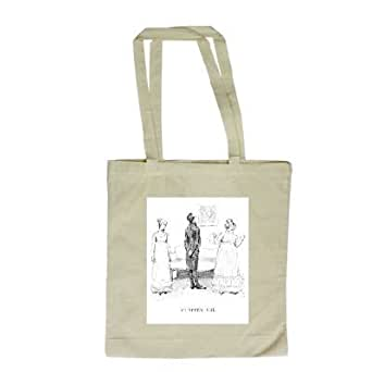 Scene from 'Pride and Prejudice' by Jane.. - Long Handled Shopping Bag