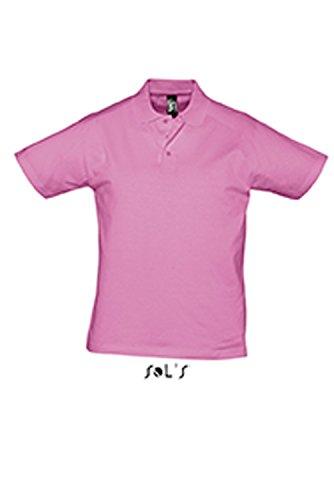 L538 Men Polo Shirt Prescott Orchid Pink