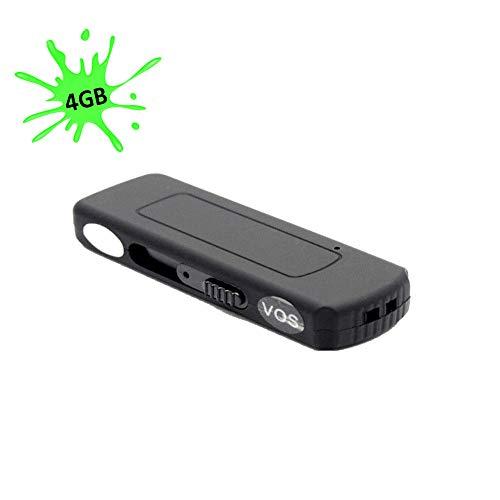 Al apparenza parece una unidad USB de memoria normal, pero cuando se moviendo la palanca lateral incomincia a grabar el sonido alrededor (música, voces, ruidos) a una distancia de hasta 3metros, ya que dispone de un micrófono muy amplificado. Ningún...