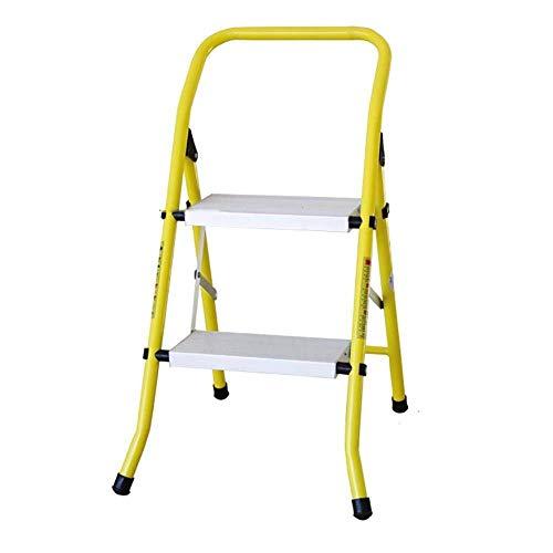 Agjq Tritthocker Schritt Hocker Aluminiumlegierung Haushalt Folding Portable 2/3 Leiter verdickt Multifunktionsleiter Stehleitern Tritthocker (größe : #1)