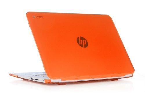 iPearl mCover Hard Shell Case für 35,6cm HP Chromebook 14G2Serie (14-q010nr 14-q020nr 14-q029wm 14-q030nr 14-q070nr, etc.) Laptops Orange Orange Hard Case