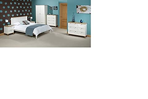 NEW SINGLE 3FT BOSTON DESIGNER WOODEN WITH ASH FINISH BEDFRAME