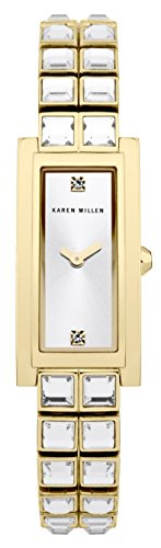 karen-millen-womens-quartz-watch-with-silver-dial-analogue-display-and-stainless-steel-gold-plated-b