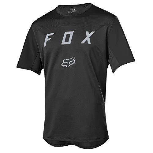 Fox Flexair Ss Moth Jersey [Blk]