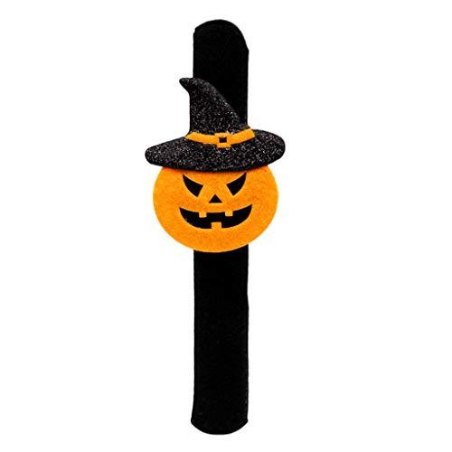 JAGENIE Halloween-Zubehör für Halloween, Dekoration Pops, Ring, Armreif, Armband, Party-Requisiten, Clap Circle, Stoff, 1, Reference Picture or Product Description