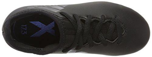 adidas Jungen X 17.3 FG J Fußballschuhe, Weiß Mehrfarbig (Core Black/core Black/utility Black F16)