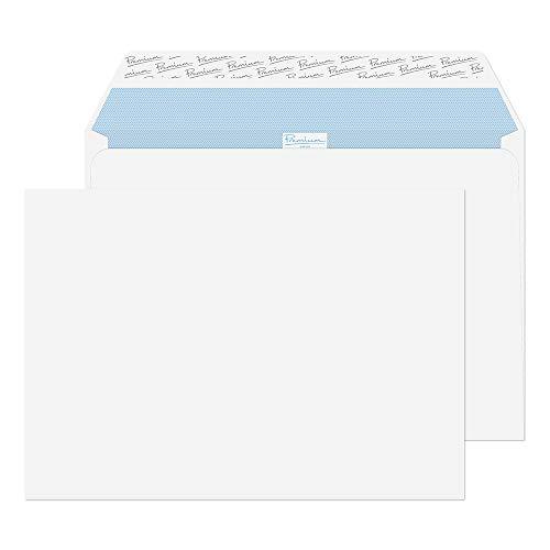 Premium Office 36215 Briefumschläge mit Haftklebung Ultra Weiß C4 229 x 324 mm - 120g/m² | 250 Stück