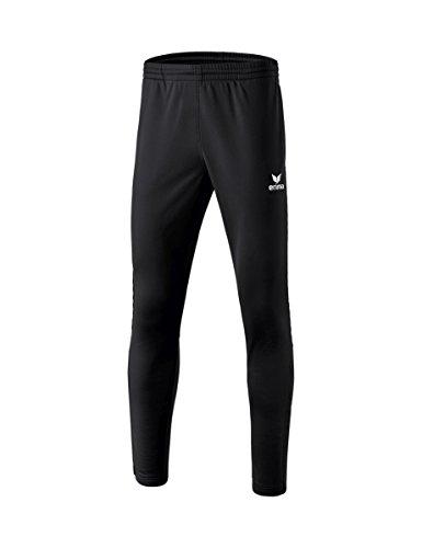 Erima Kinder Polyester mit Wadeneinsatz 2.0 Trainingshose, schwarz, 140 (Fußball-lange Hosen)