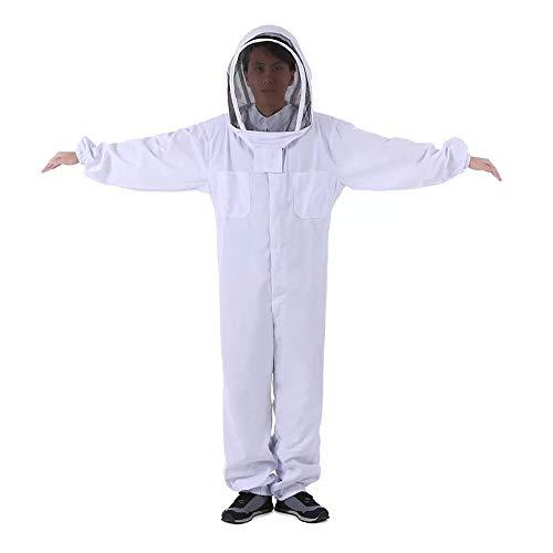 Godyluck Imkerei Schleier Anzug Jacke Dicke Imker Schutzkleidung Biene Kleidung Bienenhut Ausrüstung -