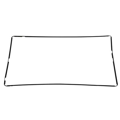 Wafalano Plastikrahmen für iPad 2 3 4, Qualitäts-LCD-Touch Screen Analog-Digital wandler-Mittelrahmen-Einfassungs-Bildschirm-Unterstützungs-Teile für Apple für iPad 2 3 4 Schwarzes