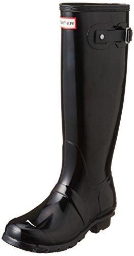 Hunter WFT1000R - Stivali da Pioggia Donna, Nero (Black), 37 EU