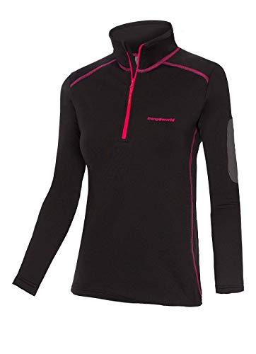 Trangoworld pc008129 – 110-m Pullover, Femme, Noir, M