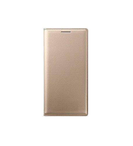 SDO LF_lnvovibek5Gold Textured Leather Flip Cover for Lenovo Vibe K5 / K5 Plus,(Gold)