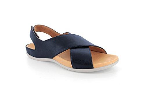 Strive Footwear Sandales Pour Femme - - Olive Metallic, 38 2/3
