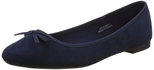 New Look Wide Foot Laire 2, Women's Ballet Flats, Blue (Blue), 6 UK (39 EU)