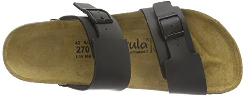 Betula Global No.1, Sandales  Bout ouvert mixte adulte Schwarz (BF Black)