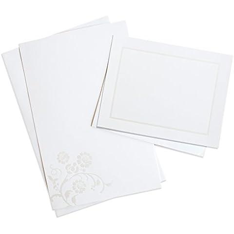 Wilton Pearlized Bouquet Printable Invitation Kit, 50