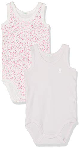 Undercolors of Benetton Bebé-Niñas 2 Bodysuit Body Not Applicable, (Lilla + Fiore...
