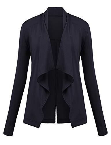 Finejo Damen Strickjacke Cardigan Strickmantel Pullover Feinstrick Strick Kurz Tops Outwear Hersbt...
