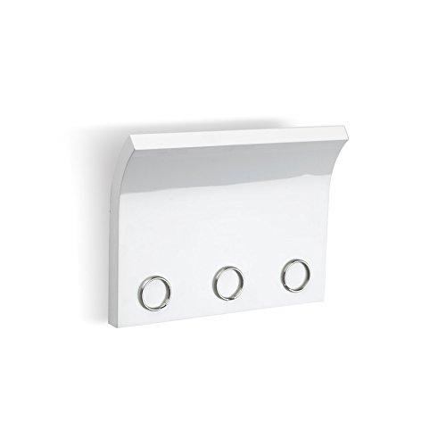 Umbra 318200-660 Magnetter Schlüssel und Briefhalter, weiß